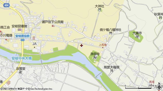 大分県国東市安岐町瀬戸田486周辺の地図