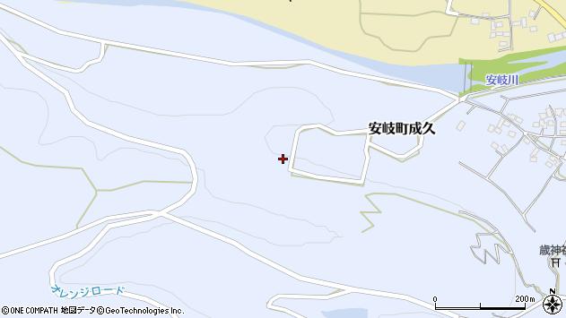 大分県国東市安岐町成久700周辺の地図