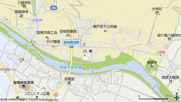 大分県国東市安岐町瀬戸田618周辺の地図