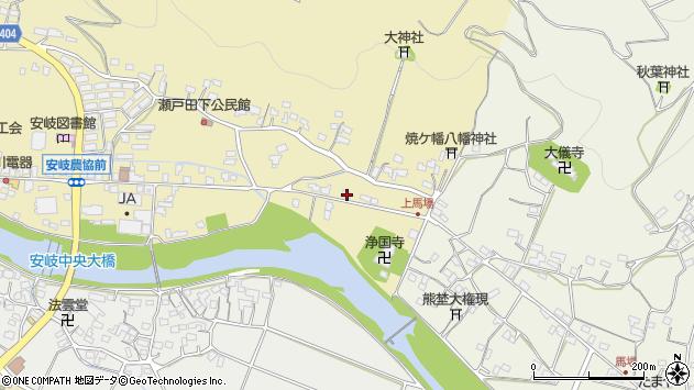 大分県国東市安岐町瀬戸田481周辺の地図