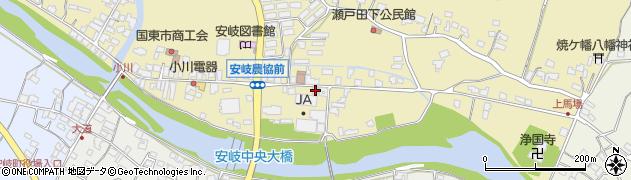 大分県国東市安岐町瀬戸田622周辺の地図