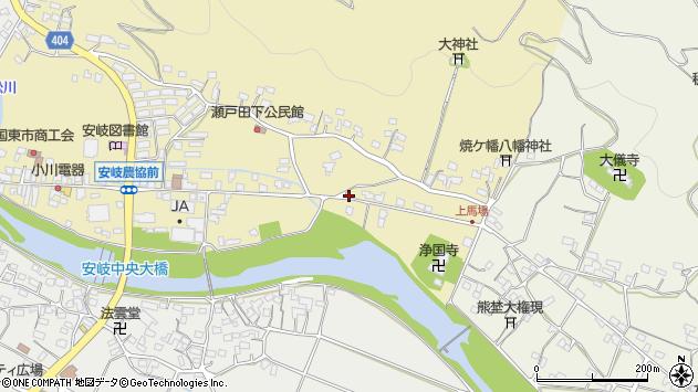 大分県国東市安岐町瀬戸田498周辺の地図