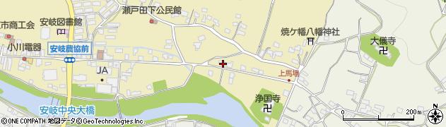 大分県国東市安岐町瀬戸田494周辺の地図