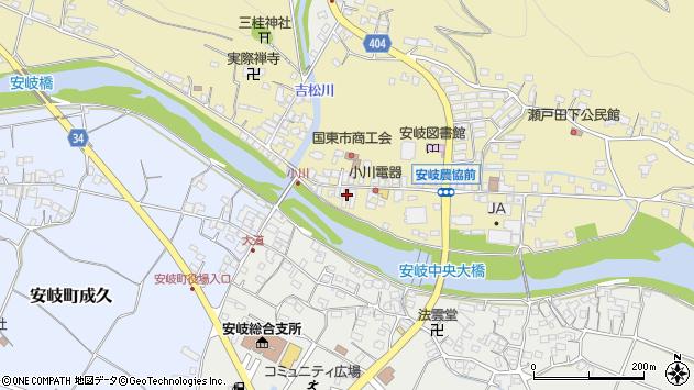 大分県国東市安岐町瀬戸田709周辺の地図