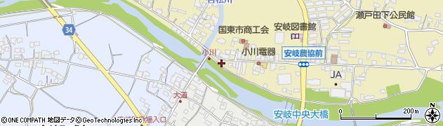 大分県国東市安岐町瀬戸田712周辺の地図