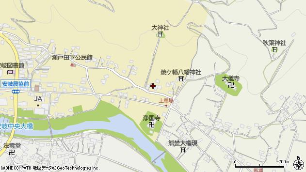 大分県国東市安岐町瀬戸田433周辺の地図