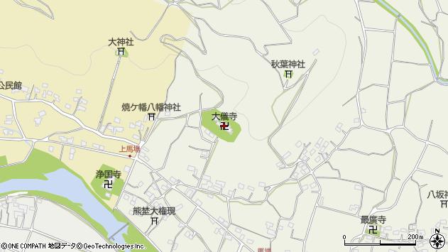 大分県国東市安岐町馬場1735周辺の地図