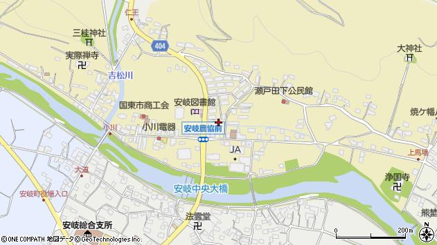 大分県国東市安岐町瀬戸田653周辺の地図