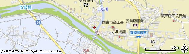 大分県国東市安岐町瀬戸田811周辺の地図