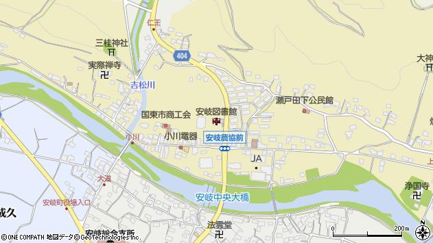 大分県国東市安岐町瀬戸田740周辺の地図
