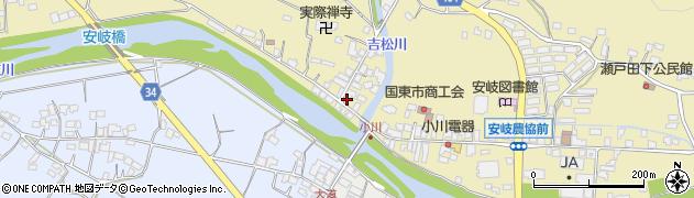大分県国東市安岐町瀬戸田814周辺の地図