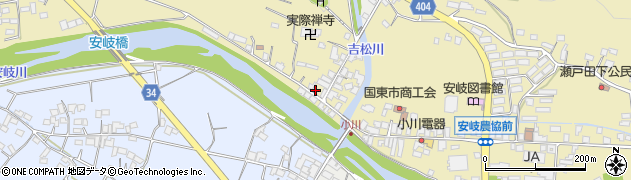 大分県国東市安岐町瀬戸田833周辺の地図
