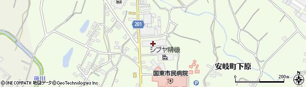 大分県国東市安岐町下原1370周辺の地図
