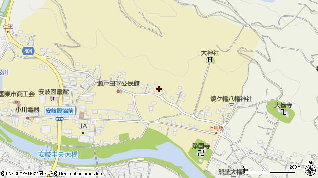 大分県国東市安岐町瀬戸田290周辺の地図