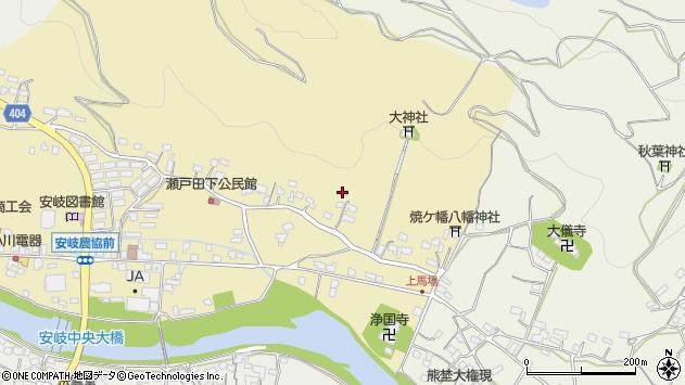 大分県国東市安岐町瀬戸田309周辺の地図