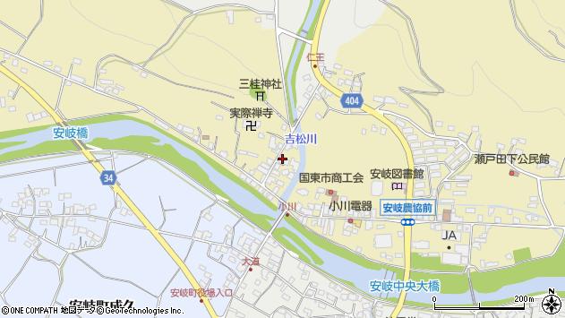 大分県国東市安岐町瀬戸田816周辺の地図