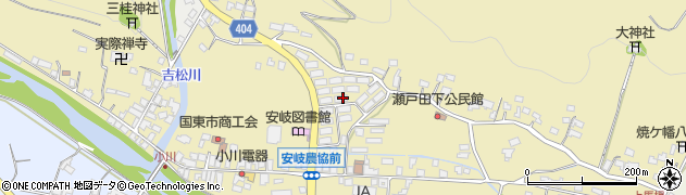 大分県国東市安岐町瀬戸田750周辺の地図