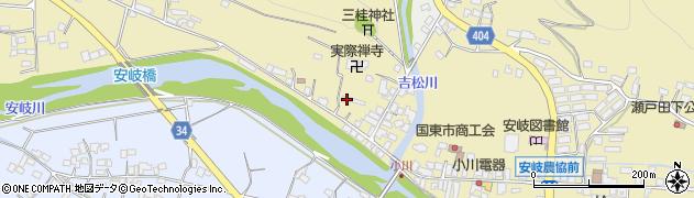 大分県国東市安岐町瀬戸田829周辺の地図