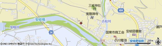 大分県国東市安岐町瀬戸田855周辺の地図