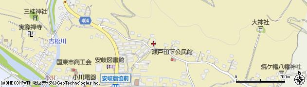 大分県国東市安岐町瀬戸田105周辺の地図