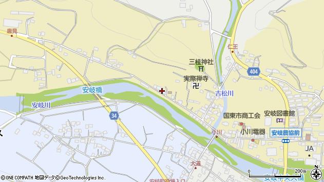 大分県国東市安岐町瀬戸田860周辺の地図