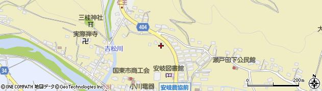 大分県国東市安岐町瀬戸田771周辺の地図