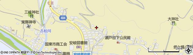 大分県国東市安岐町瀬戸田93周辺の地図