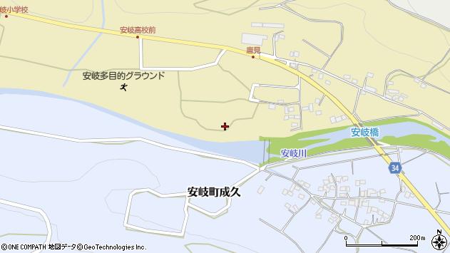 大分県国東市安岐町瀬戸田1176周辺の地図