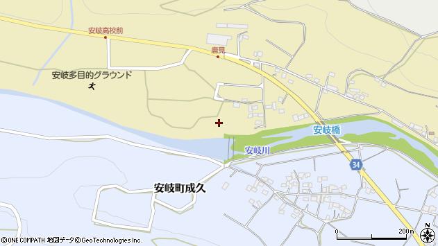 大分県国東市安岐町瀬戸田1141周辺の地図