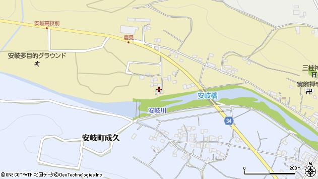 大分県国東市安岐町瀬戸田1136周辺の地図