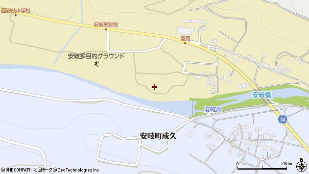 大分県国東市安岐町瀬戸田1203周辺の地図