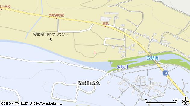 大分県国東市安岐町瀬戸田1171周辺の地図