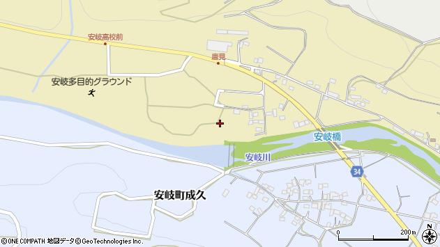 大分県国東市安岐町瀬戸田1143周辺の地図