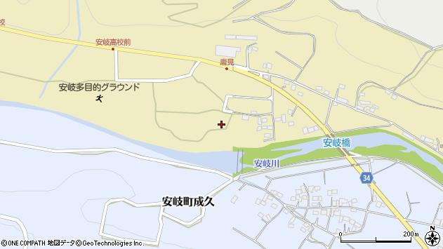 大分県国東市安岐町瀬戸田1106-2周辺の地図