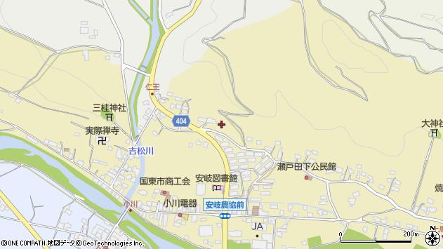 大分県国東市安岐町瀬戸田82周辺の地図