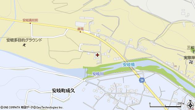 大分県国東市安岐町瀬戸田1121周辺の地図