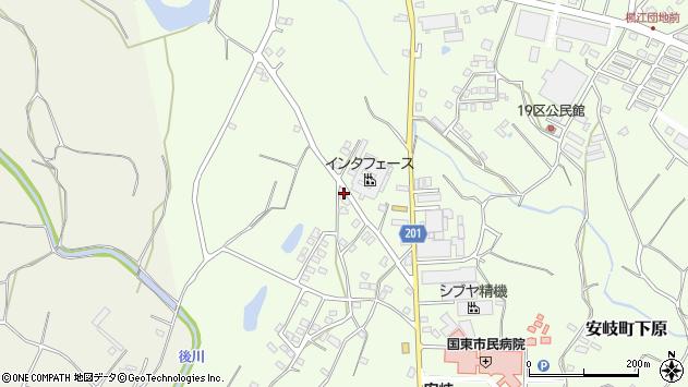 大分県国東市安岐町下原1431周辺の地図