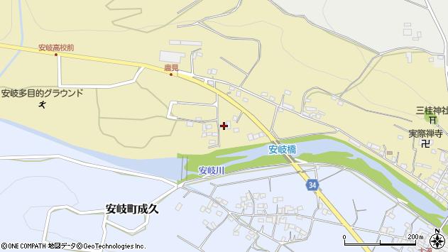 大分県国東市安岐町瀬戸田961周辺の地図
