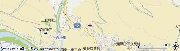 大分県国東市安岐町瀬戸田61周辺の地図