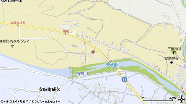 大分県国東市安岐町瀬戸田949周辺の地図