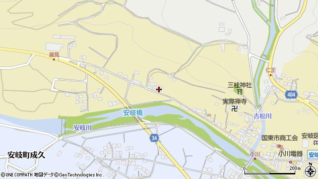 大分県国東市安岐町瀬戸田907周辺の地図