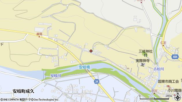 大分県国東市安岐町瀬戸田904周辺の地図