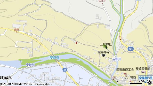 大分県国東市安岐町瀬戸田841周辺の地図