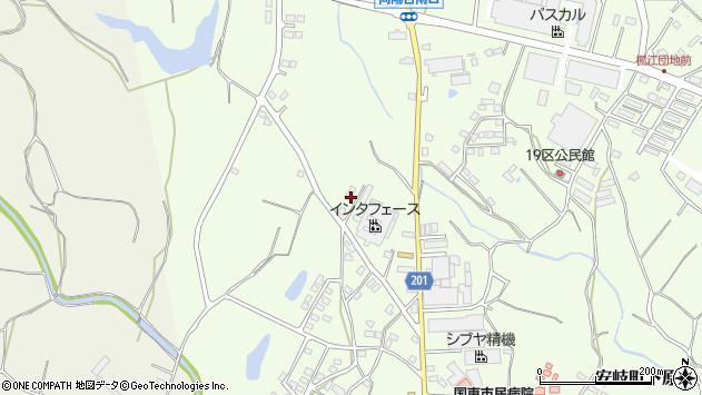 大分県国東市安岐町下原1423周辺の地図