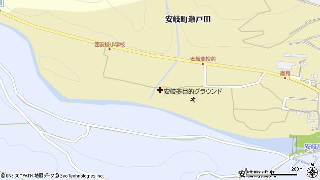 大分県国東市安岐町瀬戸田1346周辺の地図