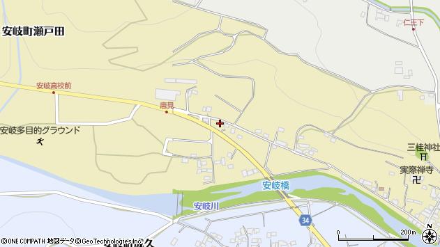 大分県国東市安岐町瀬戸田969周辺の地図