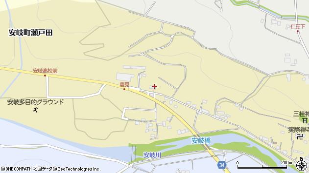 大分県国東市安岐町瀬戸田1044周辺の地図
