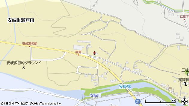 大分県国東市安岐町瀬戸田1045周辺の地図