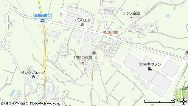 大分県国東市安岐町下原1135周辺の地図