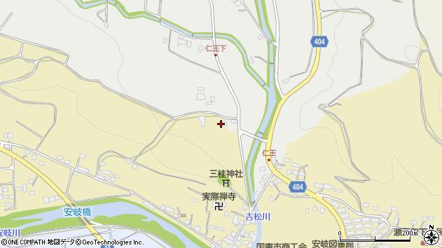 大分県国東市安岐町瀬戸田4周辺の地図